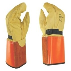 Salisbury Honeywell LPG4S Leather Protector Glove Domestic Goatskin 13 Inch
