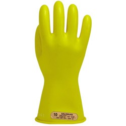 "Salisbury Honeywell E0011Y Lineman Gloves Class 00 Low Voltage 11"" Yellow"