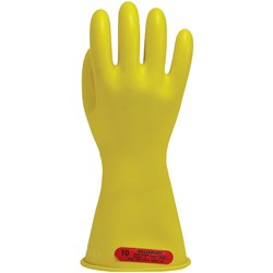 "Salisbury Honeywell E014Y Lineman Gloves Class 0 Low Voltage 14"" Yellow"