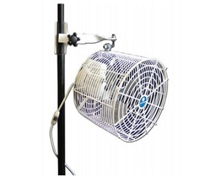 Schaefer VK12TF-TPM-W Versa-Kool Air Circulation Tent Fan 12 Inch