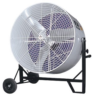 Schaefer VS36VKT-50-OSHA Versa-Kool Mobile Tiltable Fan 36 Inch